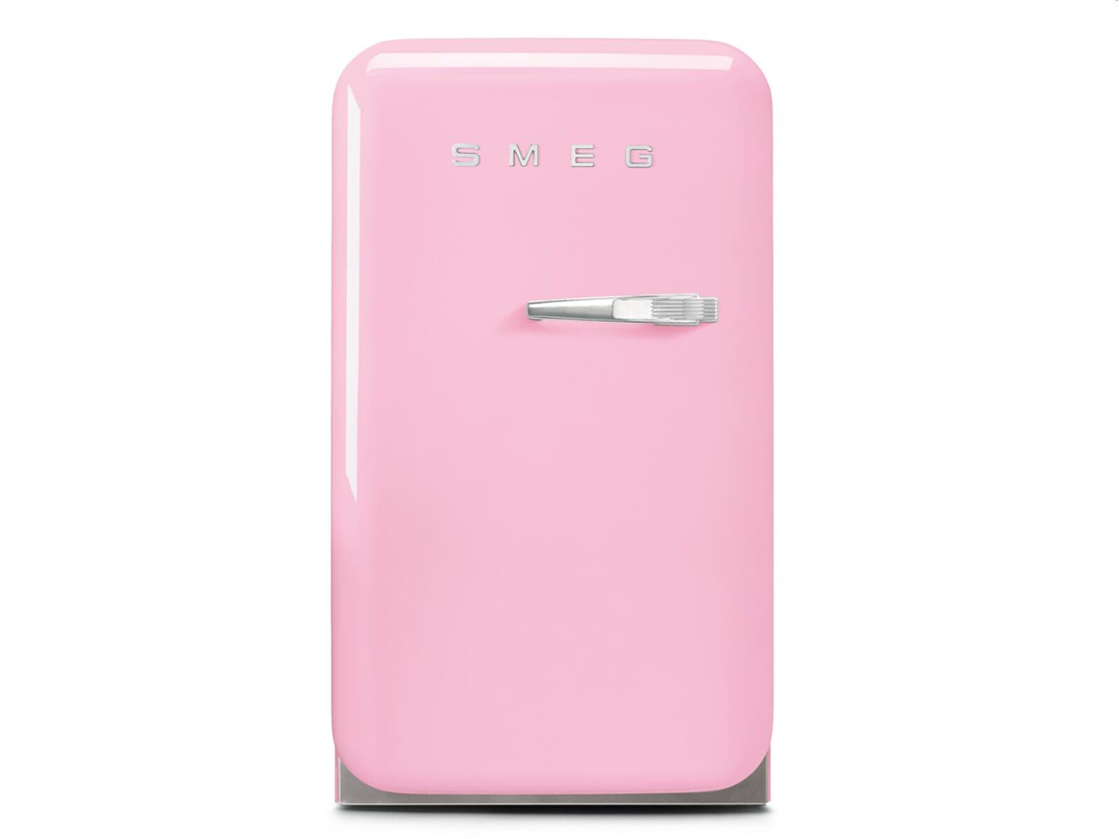 Smeg Kühlschrank Pink : Smeg fab lpk standkühlschrank cadillac pink