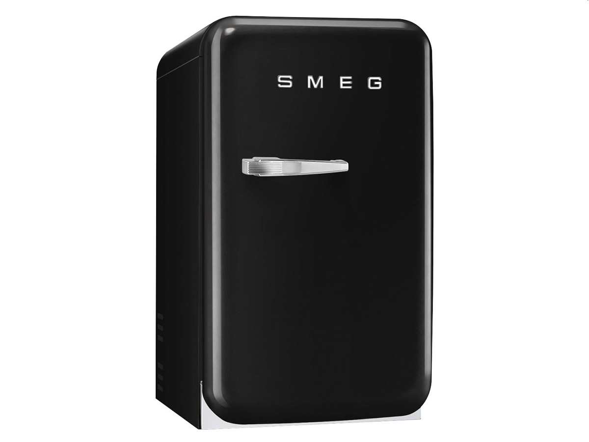 smeg fab5rbl standk hlschrank schwarz. Black Bedroom Furniture Sets. Home Design Ideas