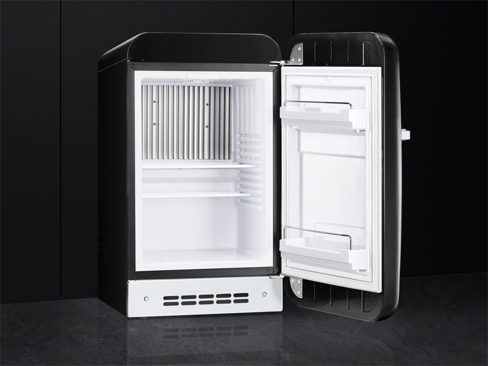 Smeg Kühlschrank Tiefe : Smeg fab5rbl standkühlschrank schwarz