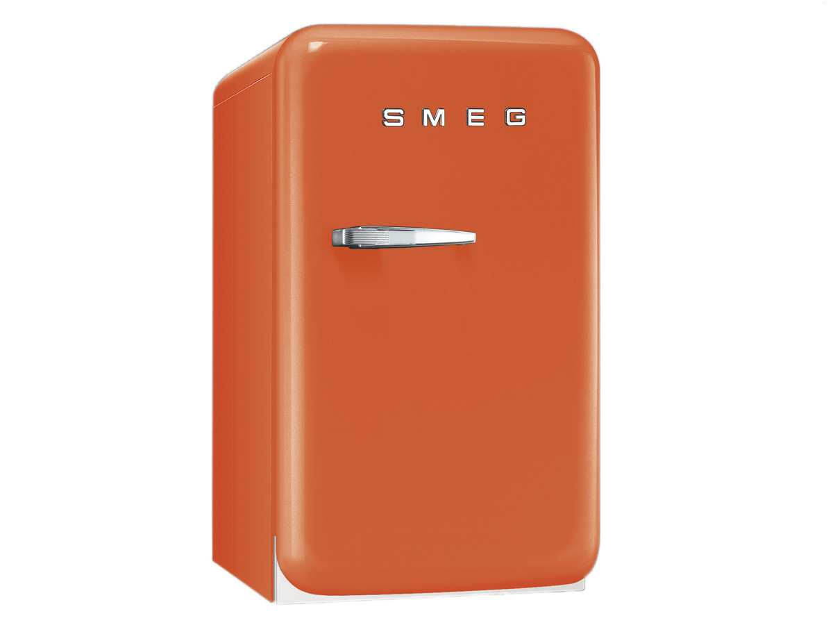 smeg fab5ro1 standk hlschrank orange. Black Bedroom Furniture Sets. Home Design Ideas