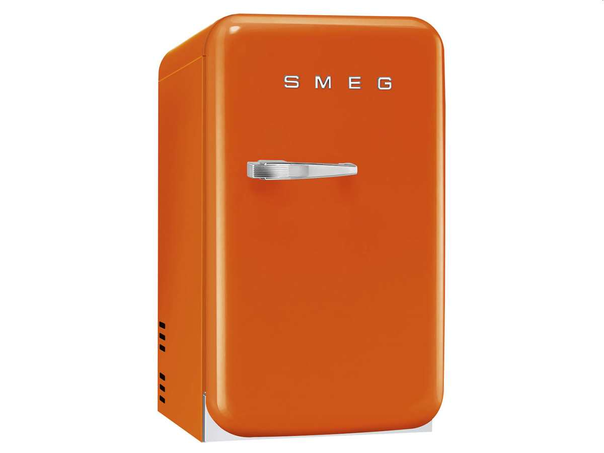 smeg fab5ror standk hlschrank orange. Black Bedroom Furniture Sets. Home Design Ideas