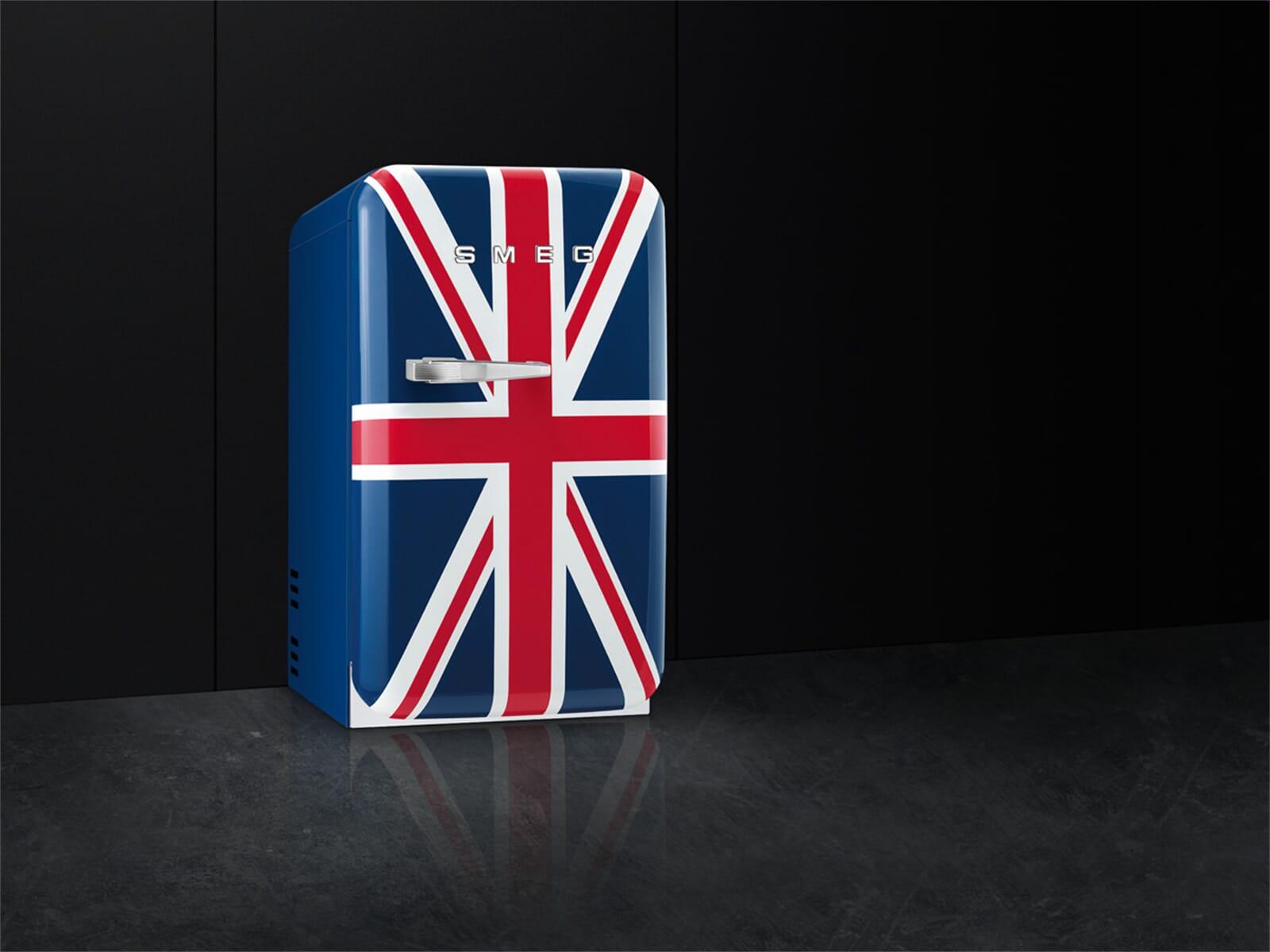 Mini Kühlschrank Union Jack : Smeg kühlschrank union jack der smeg kühlschrank eine designikone