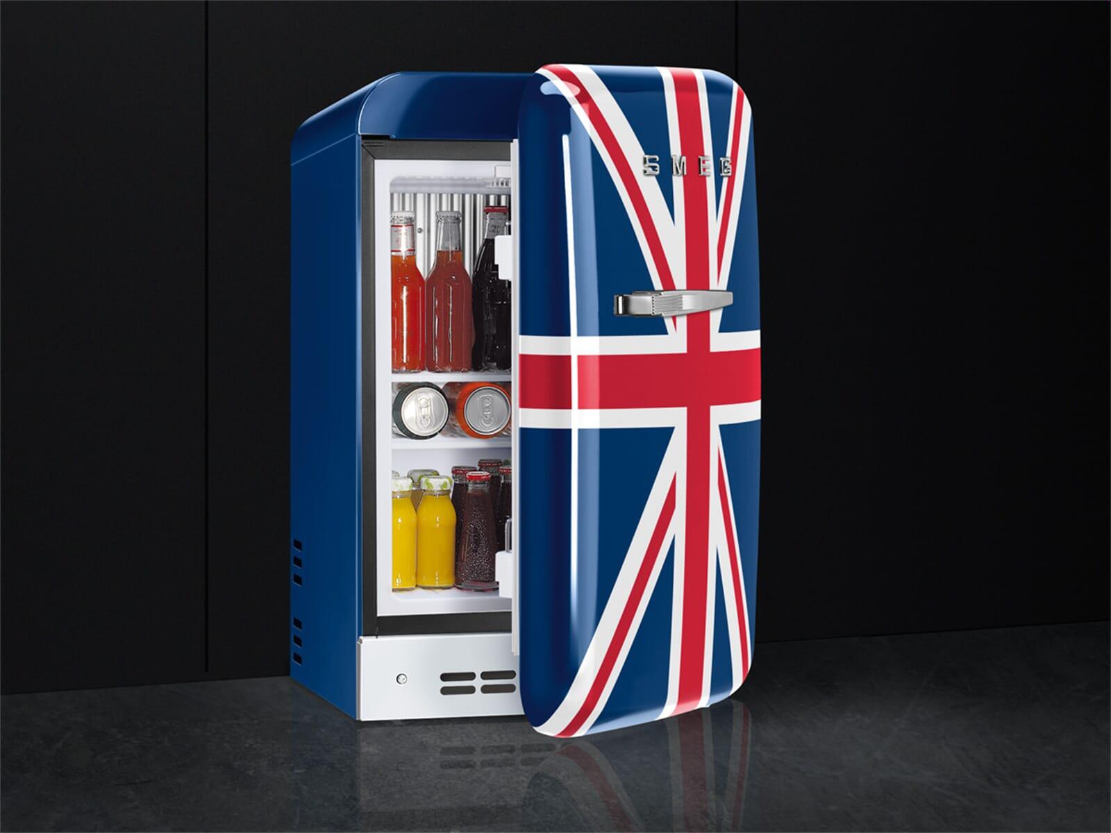 Retro Kühlschrank Union Jack : Smeg kühlschrank union jack der smeg kühlschrank eine designikone