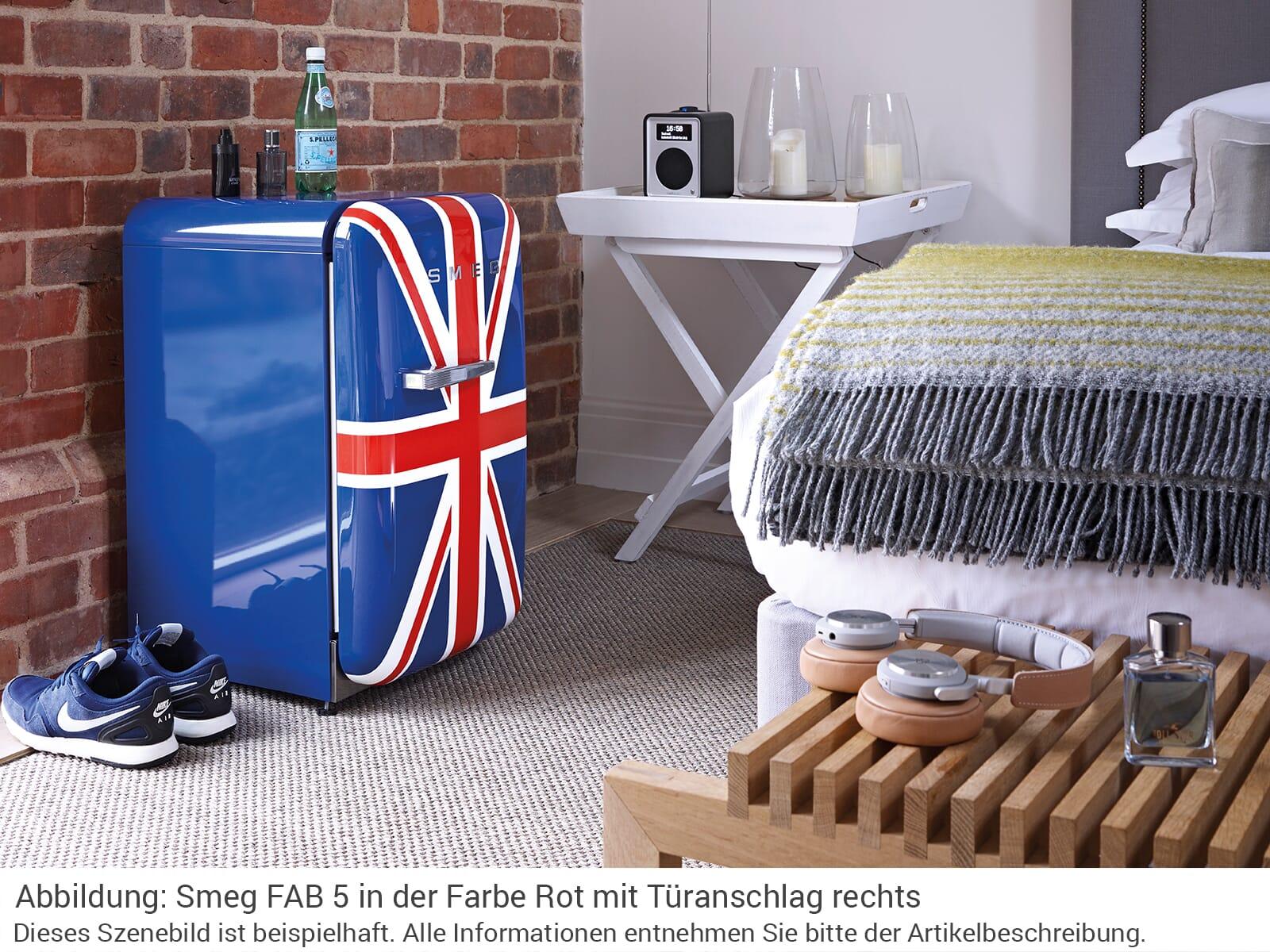 Smeg Kühlschrank Union Jack : Smeg fab5ruj2 stand flaschenkühlschrank union jack