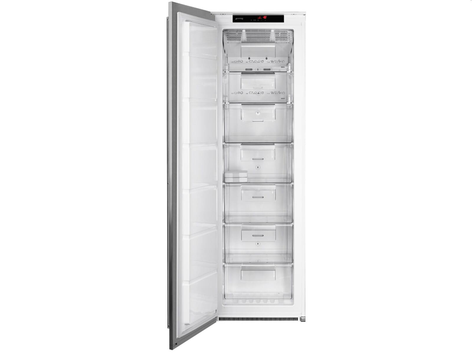 Smeg Kühlschrank 70 Cm : Smeg fi lx einbaugefrierschrank edelstahl