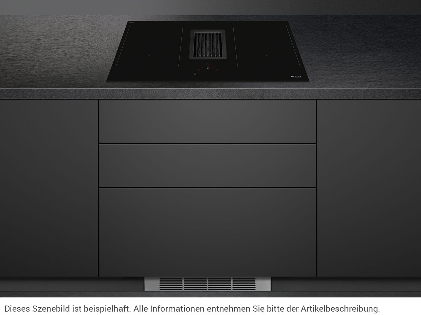 Smeg HOBD482d Induktionskochfeld-Dunstabzug-Kombination