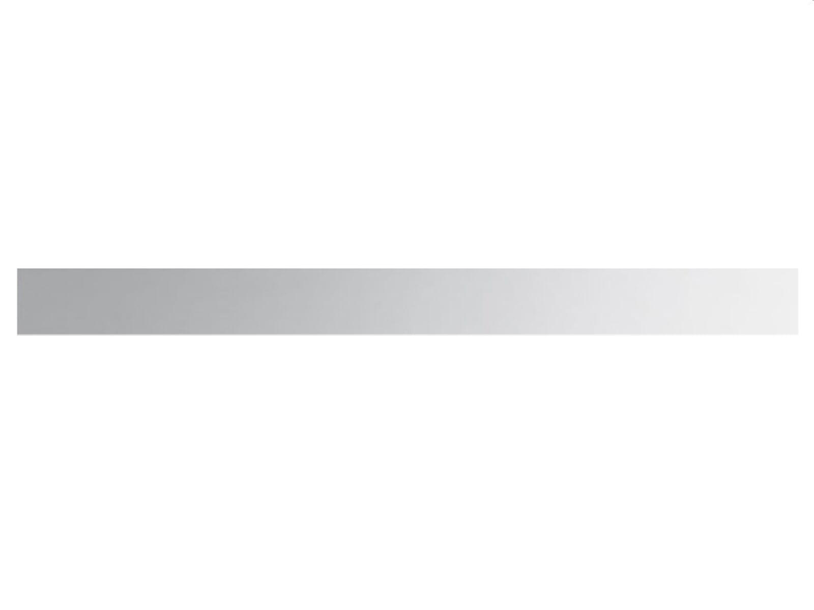 Smeg KIT2A2-8 Sockelblende Edelstahl