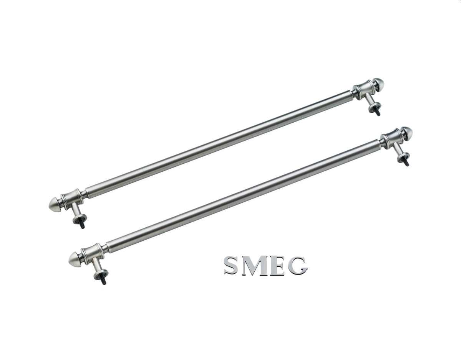 Smeg KITKCX-2 Reling / Smeg-Logo in Silber
