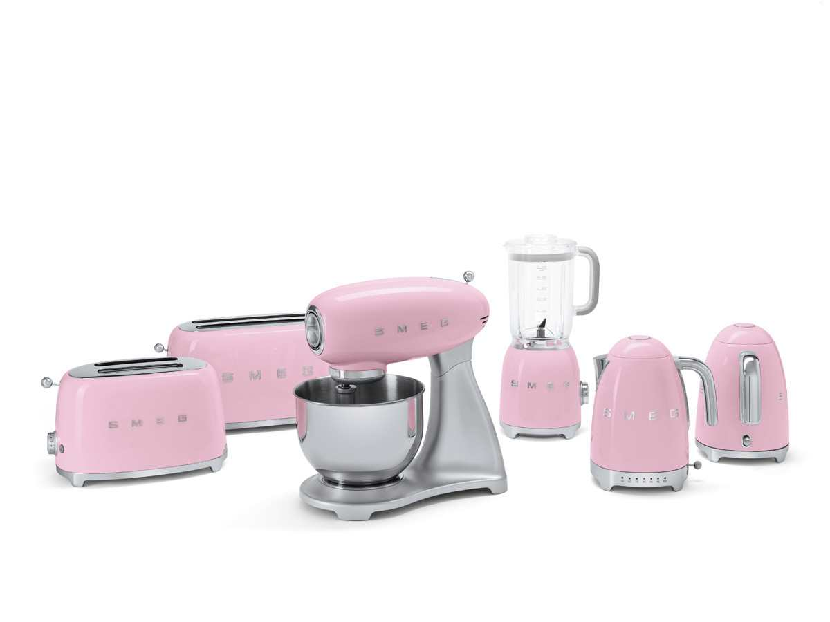 smeg blf01pkeu standmixer cadillac pink. Black Bedroom Furniture Sets. Home Design Ideas