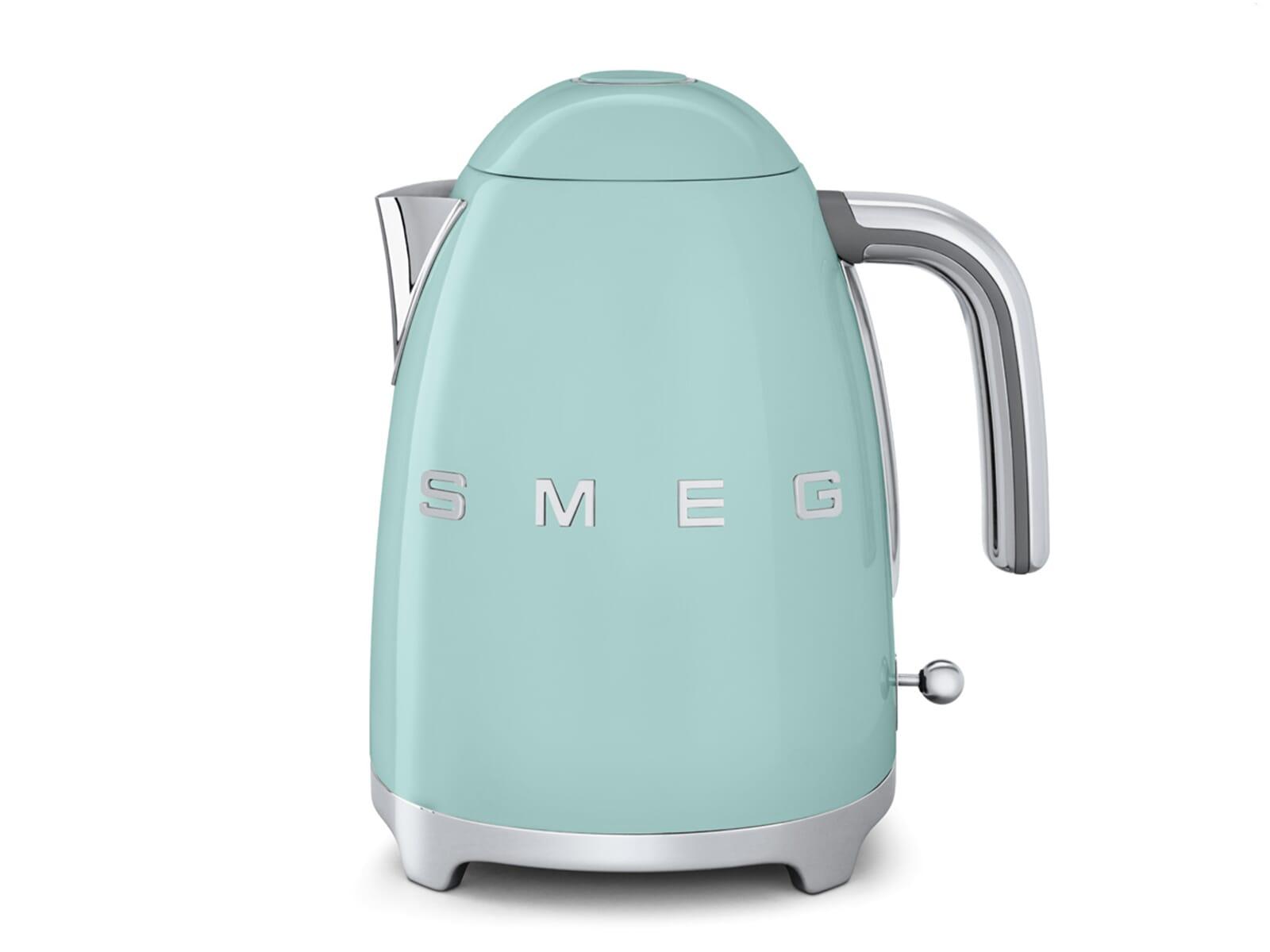 Smeg Kühlschrank Wasser Läuft Aus : Smeg klf pgeu wasserkocher pastellgrün