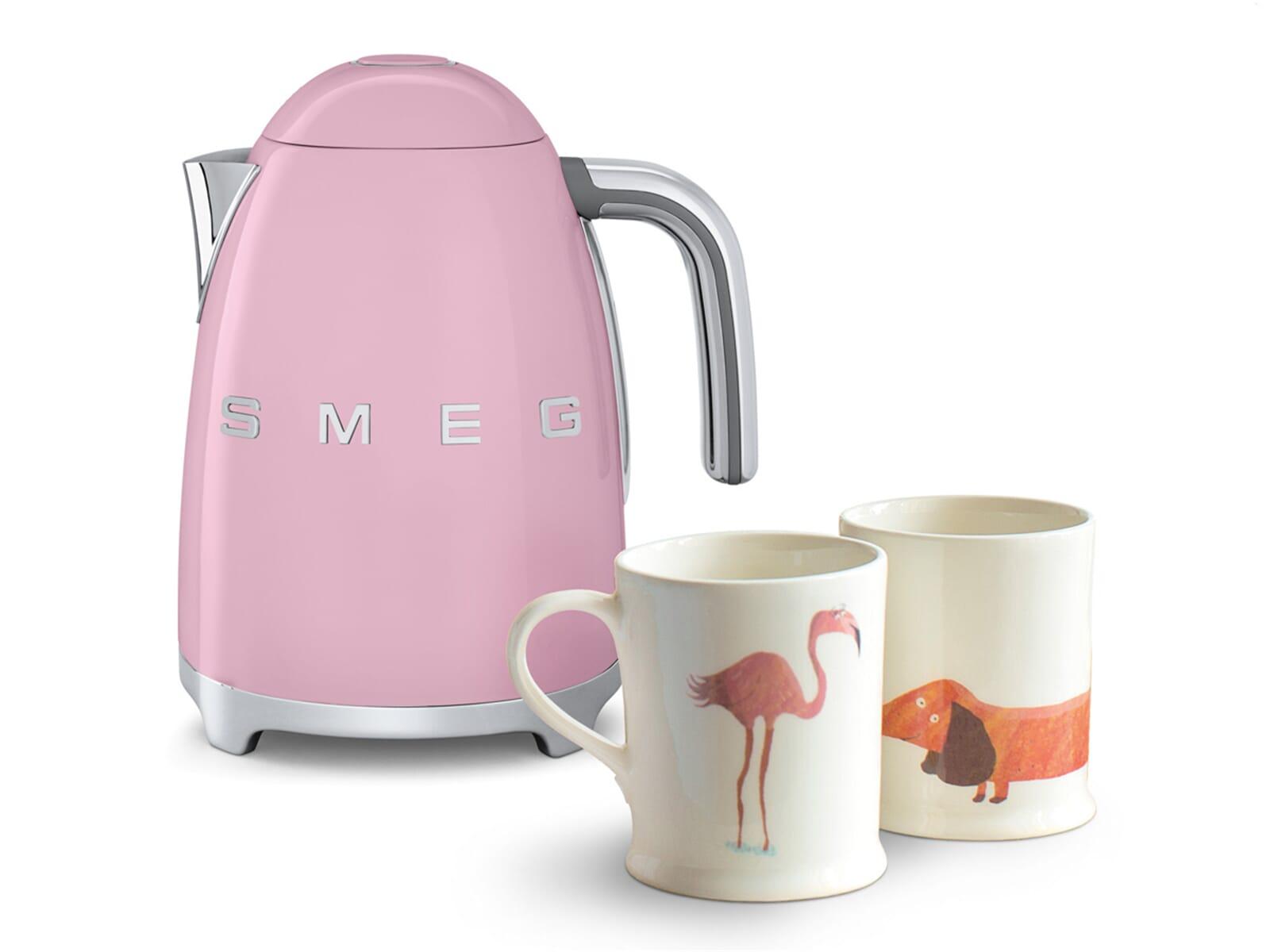Smeg Kühlschrank Rosa Klein : Smeg klf03pkeu wasserkocher cadillac pink