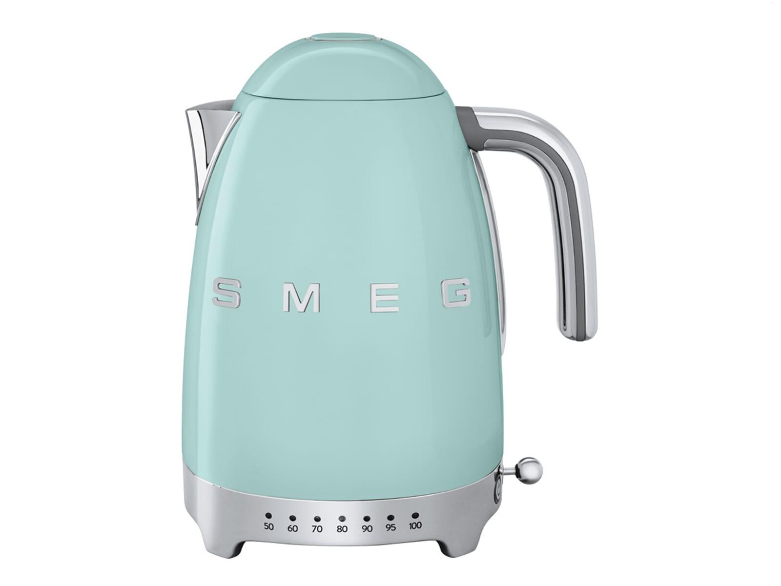 Smeg Kühlschrank Pastelgrün : Smeg klf pgeu wasserkocher pastellgrün