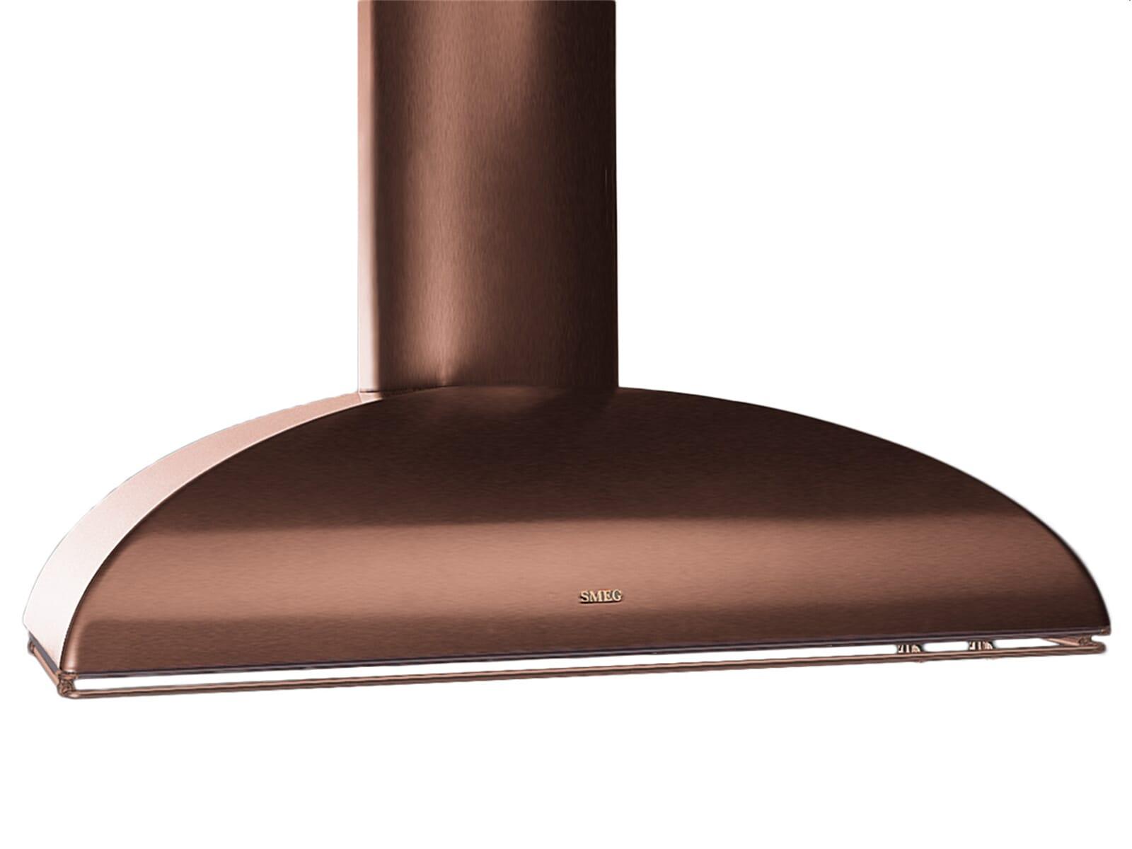 Gorenje Kühlschrank Kupfer : Smeg ks89rae wandhaube kupfer