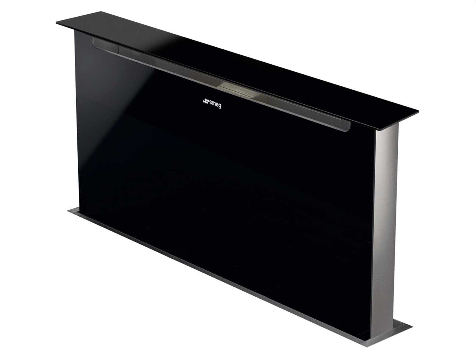 Smeg Kühlschrank Rückseite : Smeg ksdd vn tischhaube schwarz