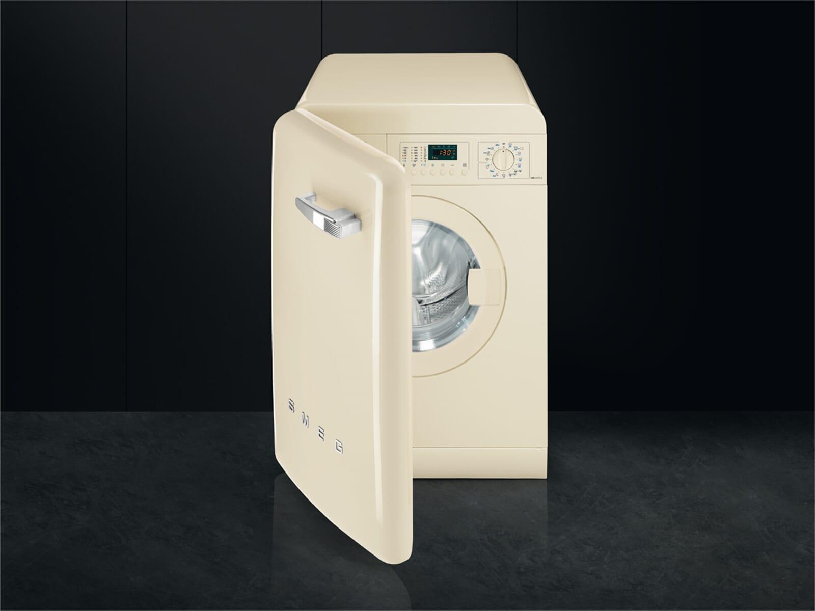 smeg lbb14cr 2 waschmaschine creme. Black Bedroom Furniture Sets. Home Design Ideas