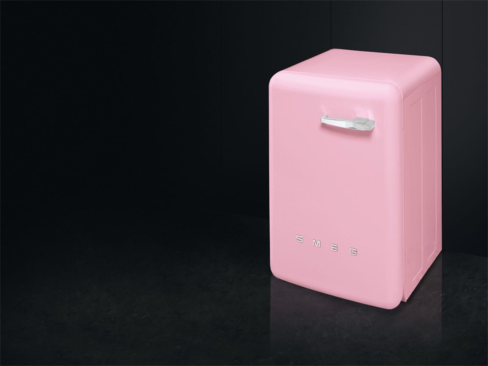 smeg lbb14pk 2 waschmaschine cadillac pink. Black Bedroom Furniture Sets. Home Design Ideas