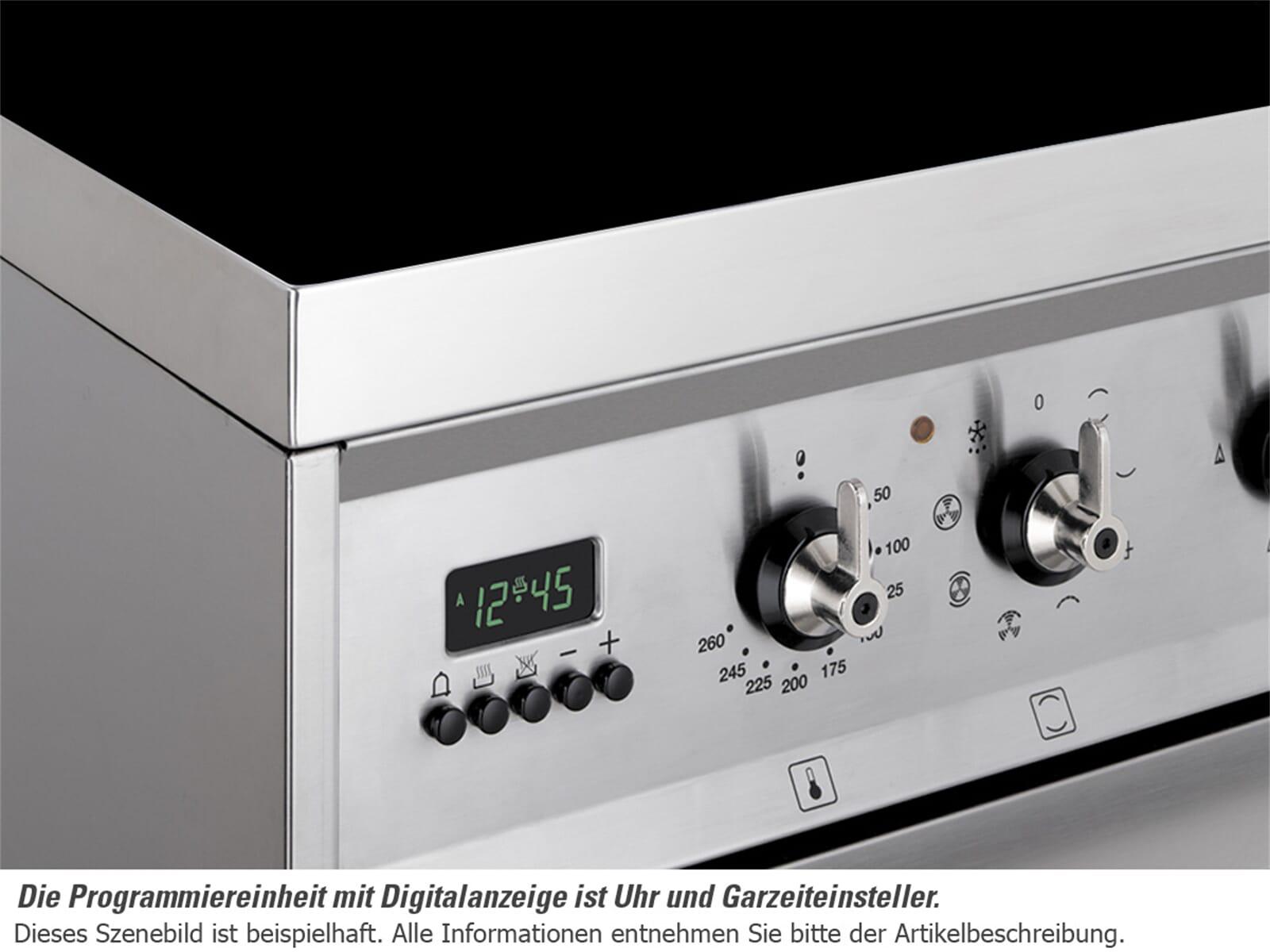 Smeg SCD60IMX8 Induktion Standherd Edelstahl