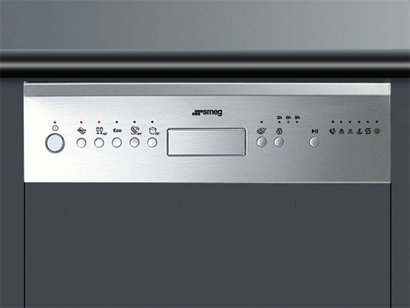 Smeg PLA4513X Teilintegrierbarer Einbau Geschirrspüler