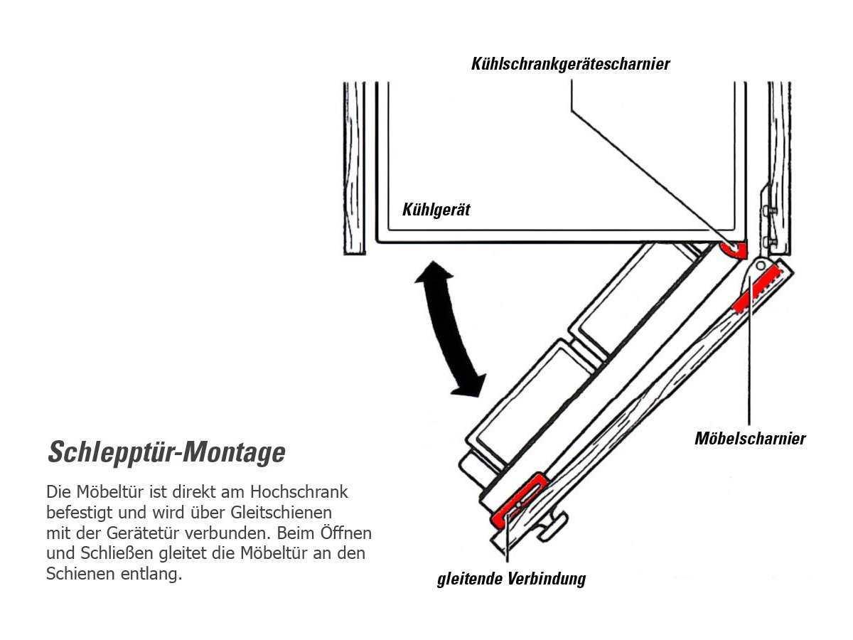 Smeg FR2392P Einbau-Kühl-Gefrierkombination