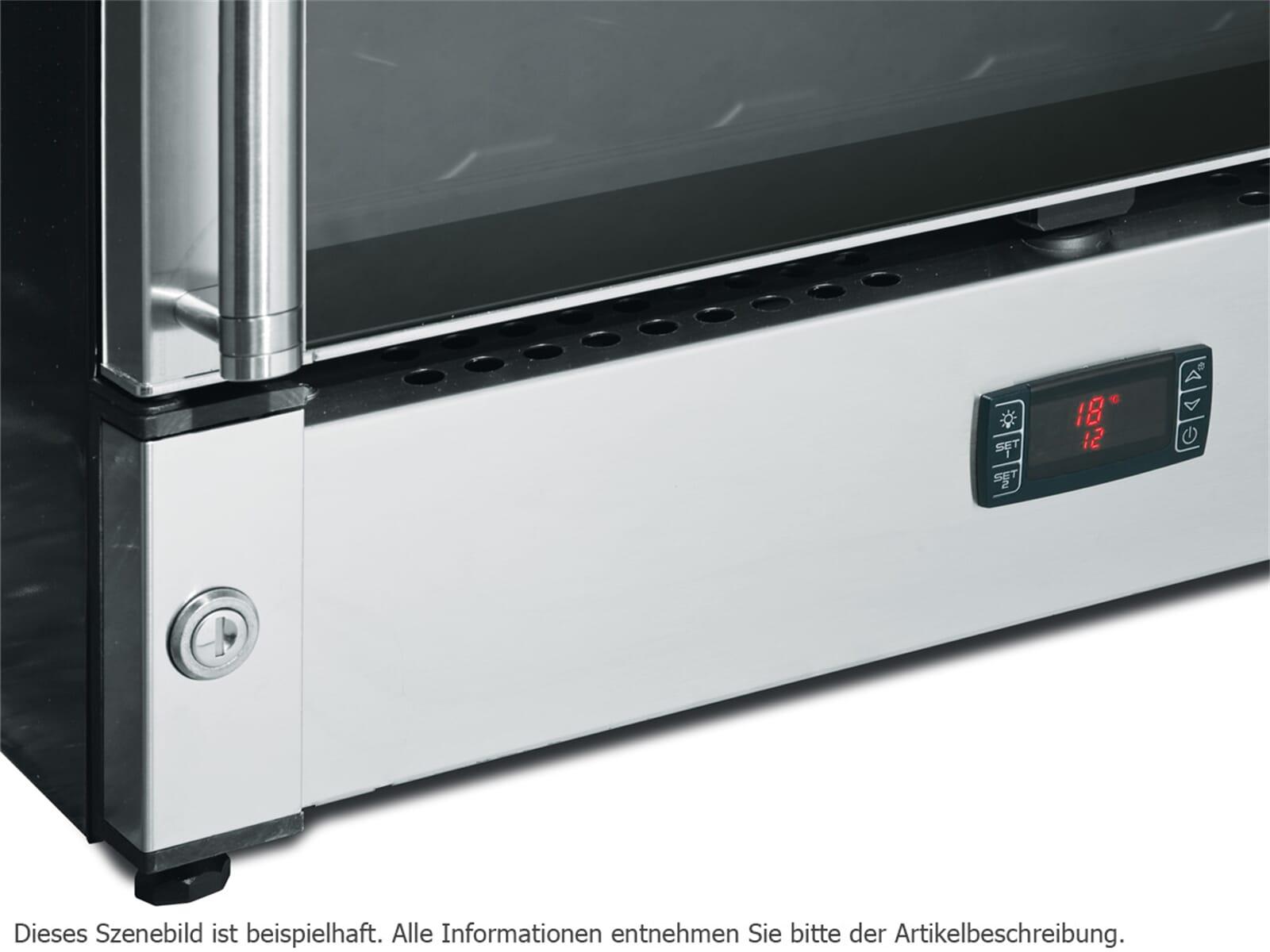Smeg Kühlschrank Temperatur Einstellen : Smeg scv115as stand weinkühlschrank weinklimaschrank edelstahl