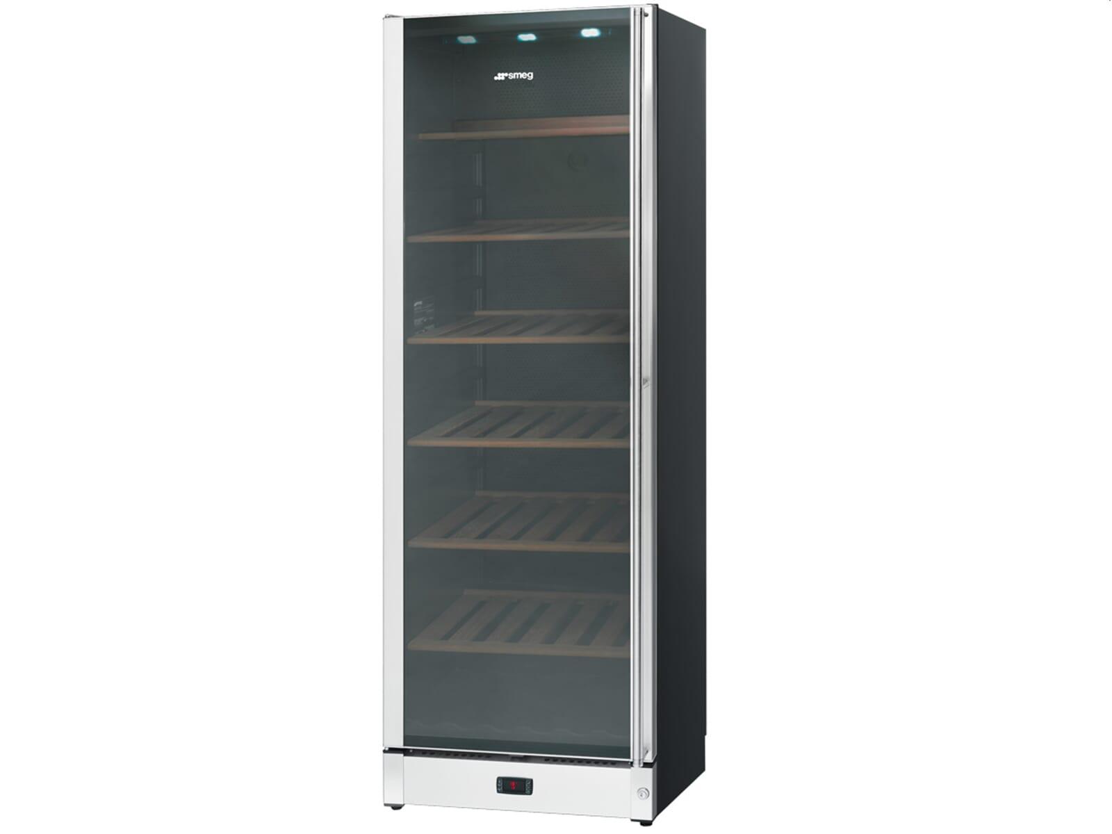 Smeg Kühlschrank Einstellen : Smeg scv as stand weinkühlschrank weinklimaschrank edelstahl