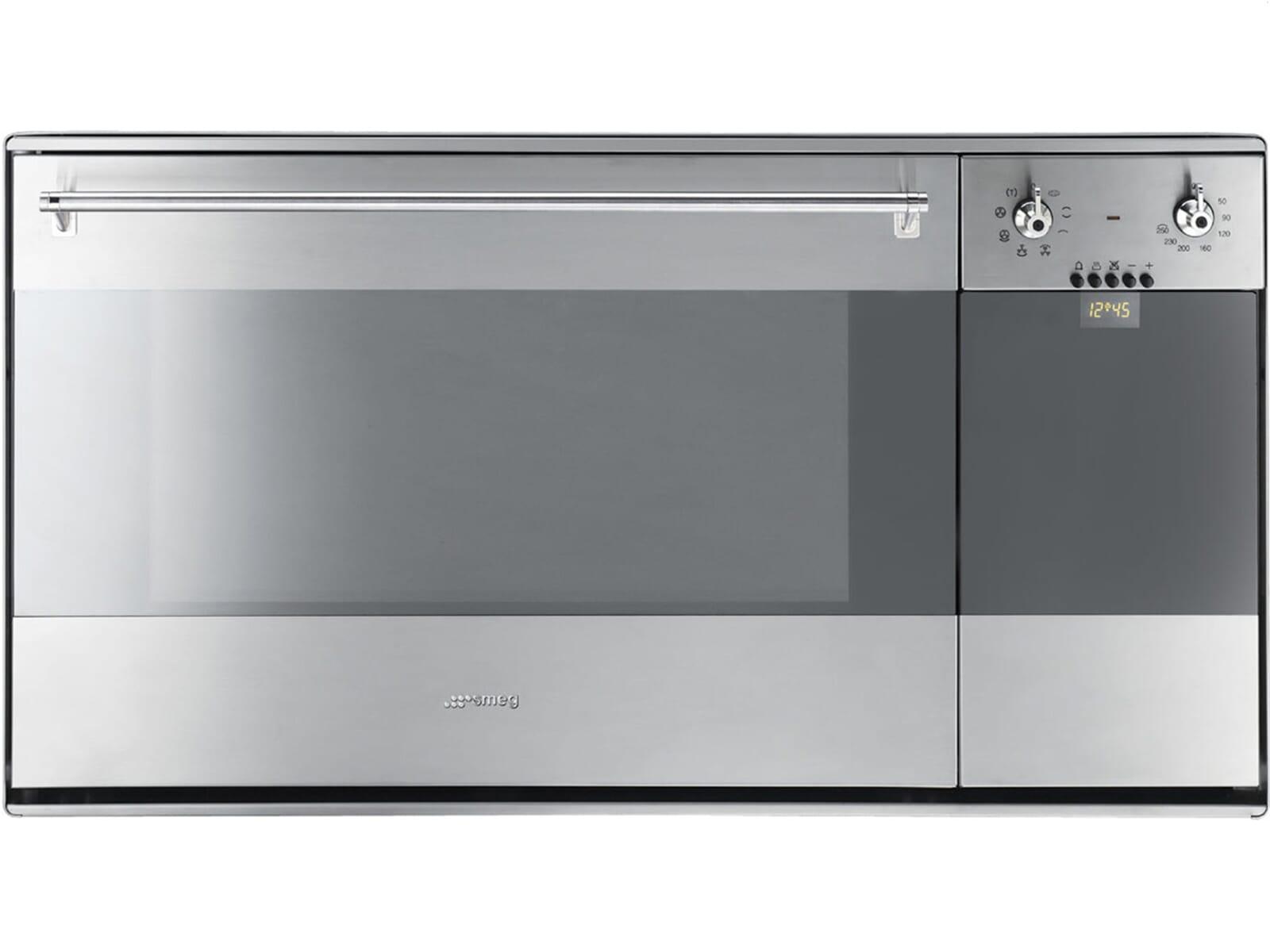 Smeg SE995XT-7 Backofen mit Toaster Edelstahl