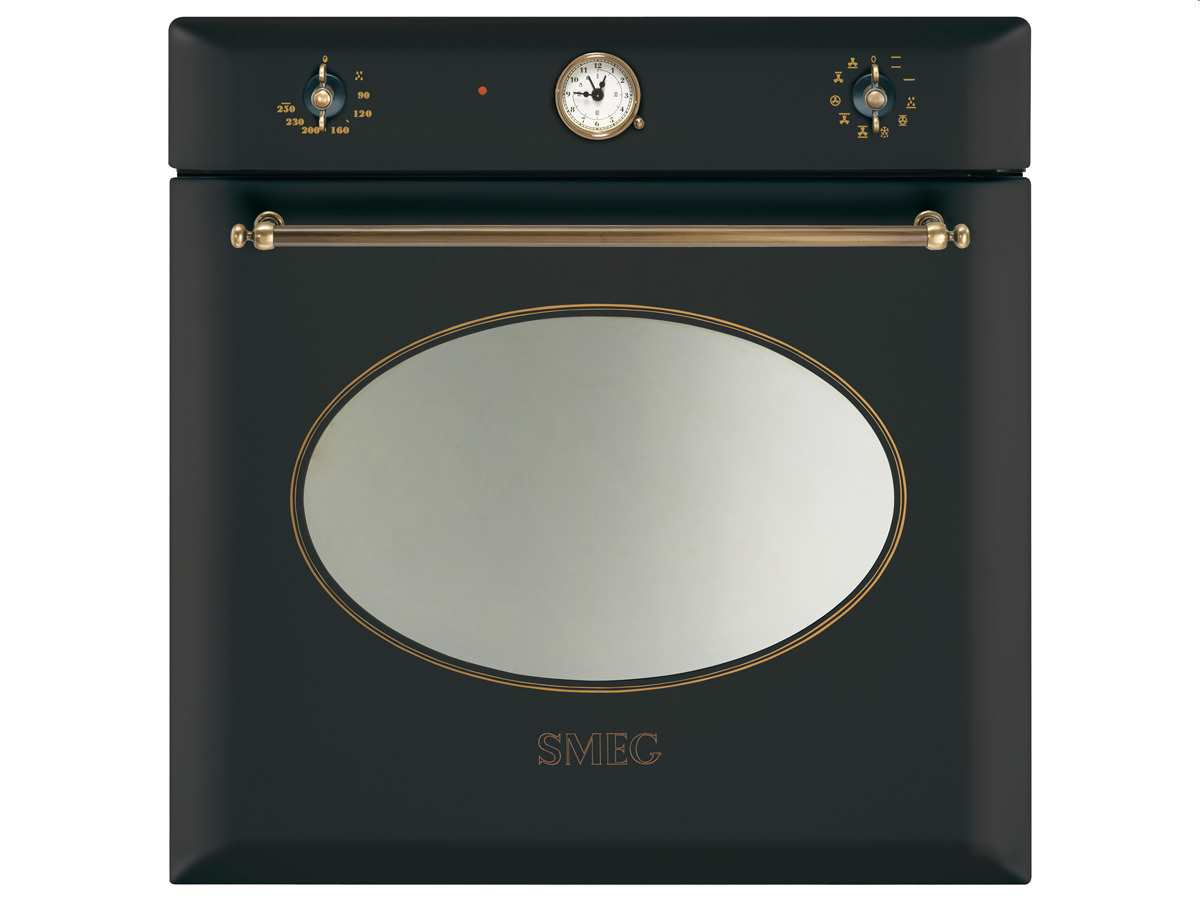 Smeg SF855AO Backofen Anthrazit