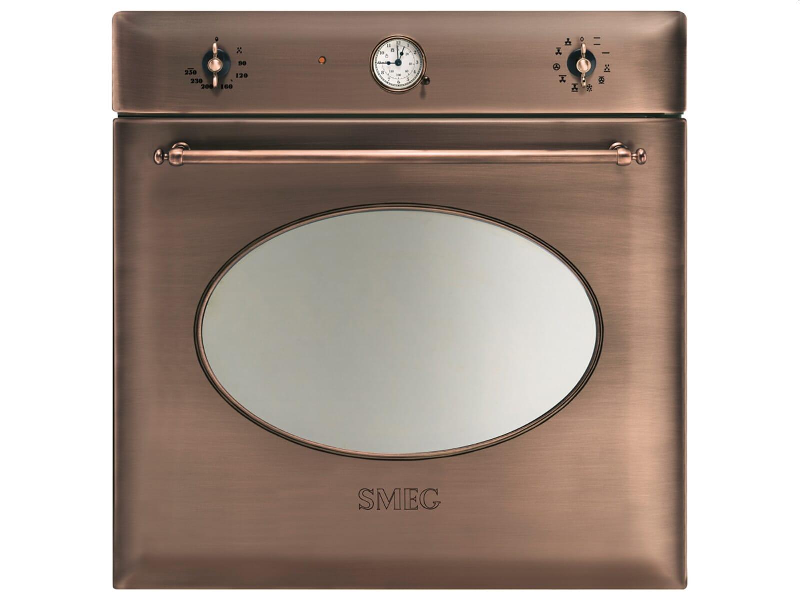 Smeg Kühlschrank Kundendienst : Smeg sf ra backofen kupfer