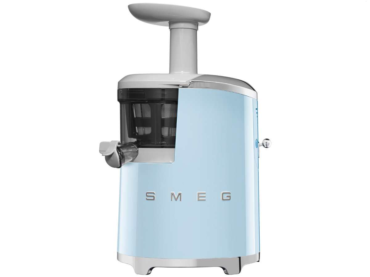 smeg sjf01pbeu slow juicer entsafter pastellblau. Black Bedroom Furniture Sets. Home Design Ideas