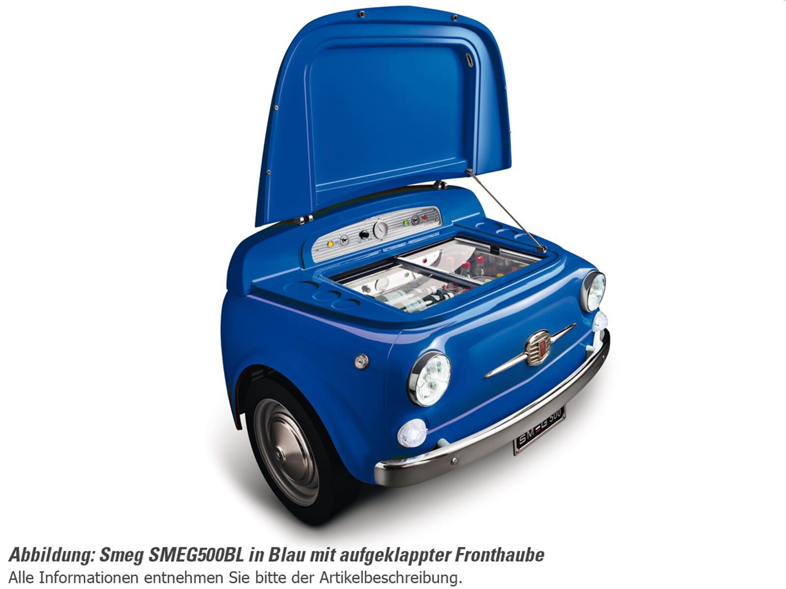Smeg SMEG500BL Stand Flaschenkühlschrank Blau