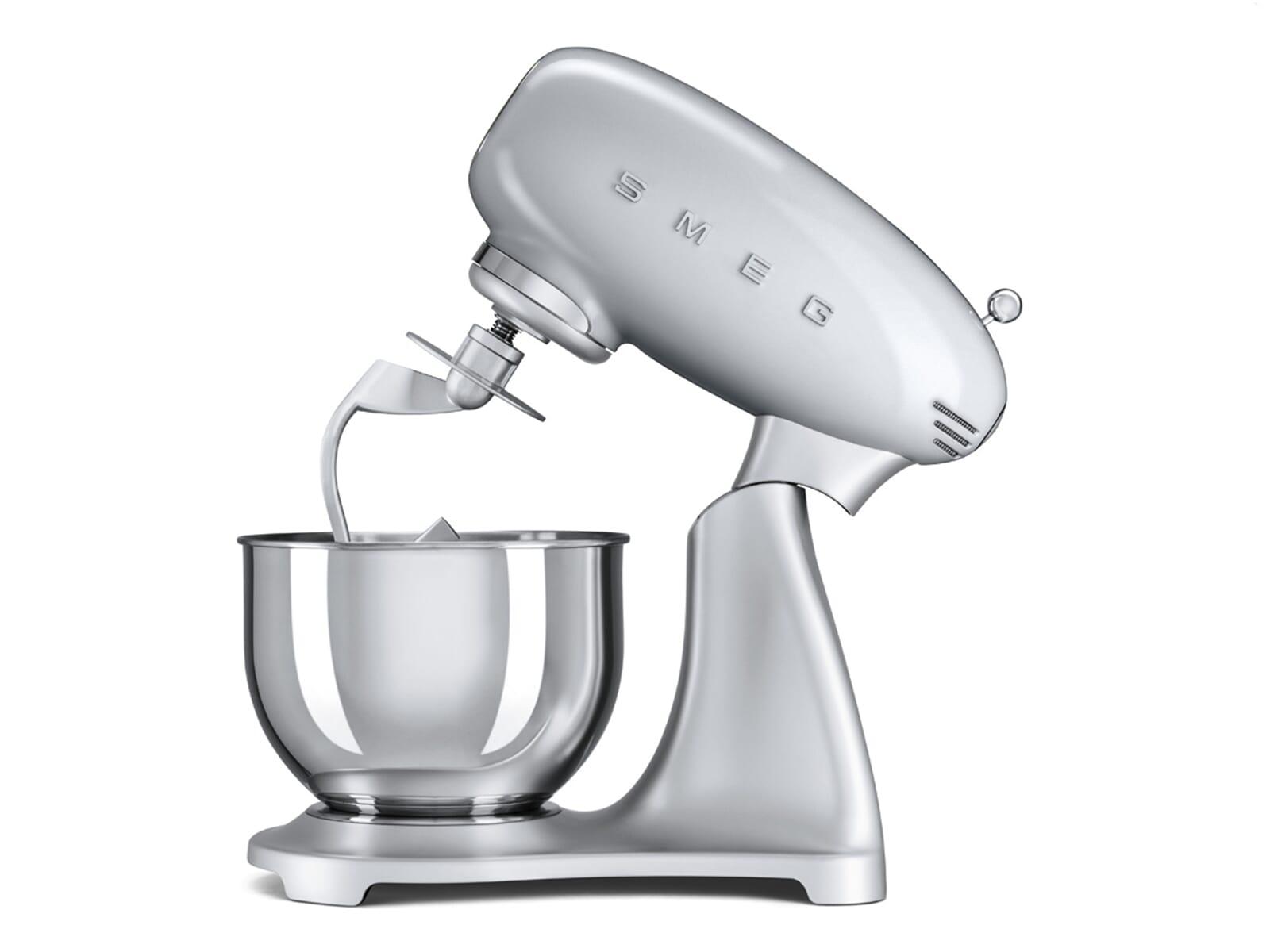 Smeg SMF01SVEU Küchenmaschine Polarsilber Metallic