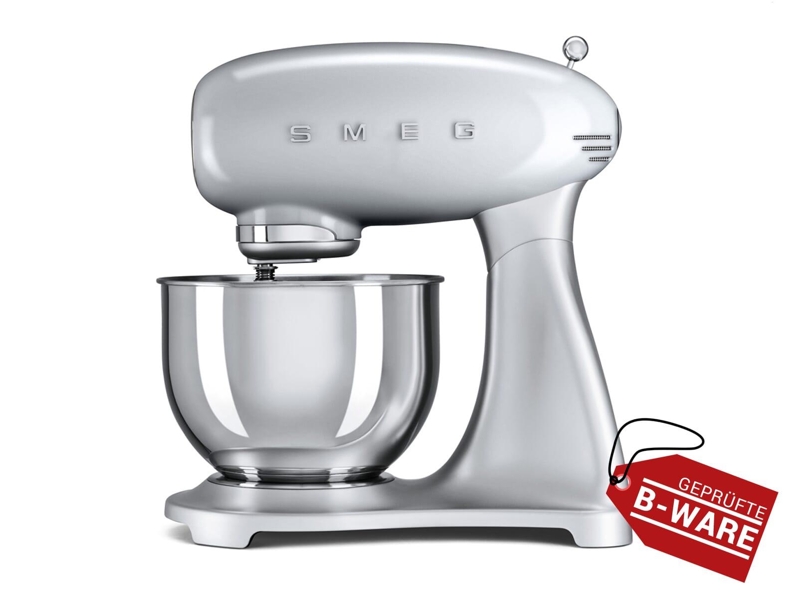 Smeg SMF01SVEU Küchenmaschine Polarsilber Metallic - B-Ware