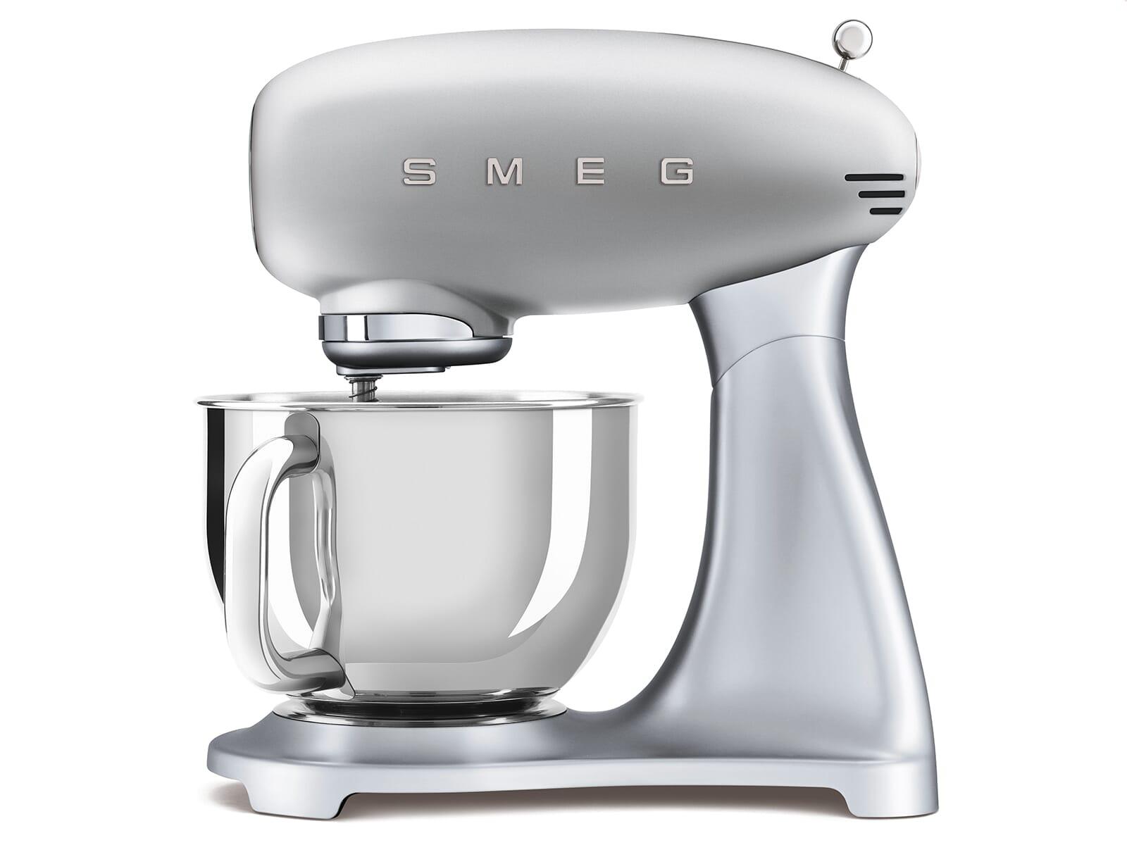 Smeg SMF02SVEU Küchenmaschine Polarsilber Metallic