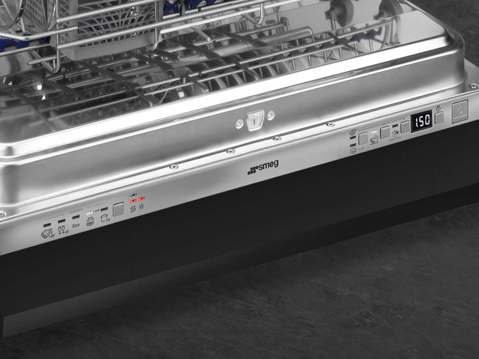 Smeg Kühlschrank Xxl : Smeg ste l vollintegrierbarer einbaugeschirrspüler xxl