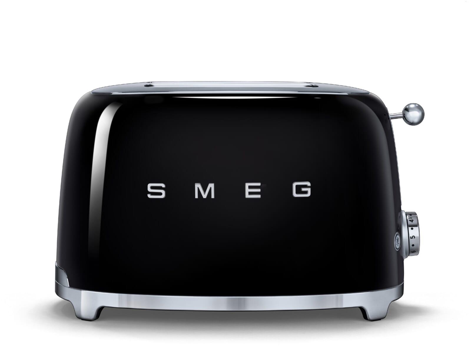 Produktabbildung von Smeg TSF01BLEU 2-Scheiben-Toaster Schwarz