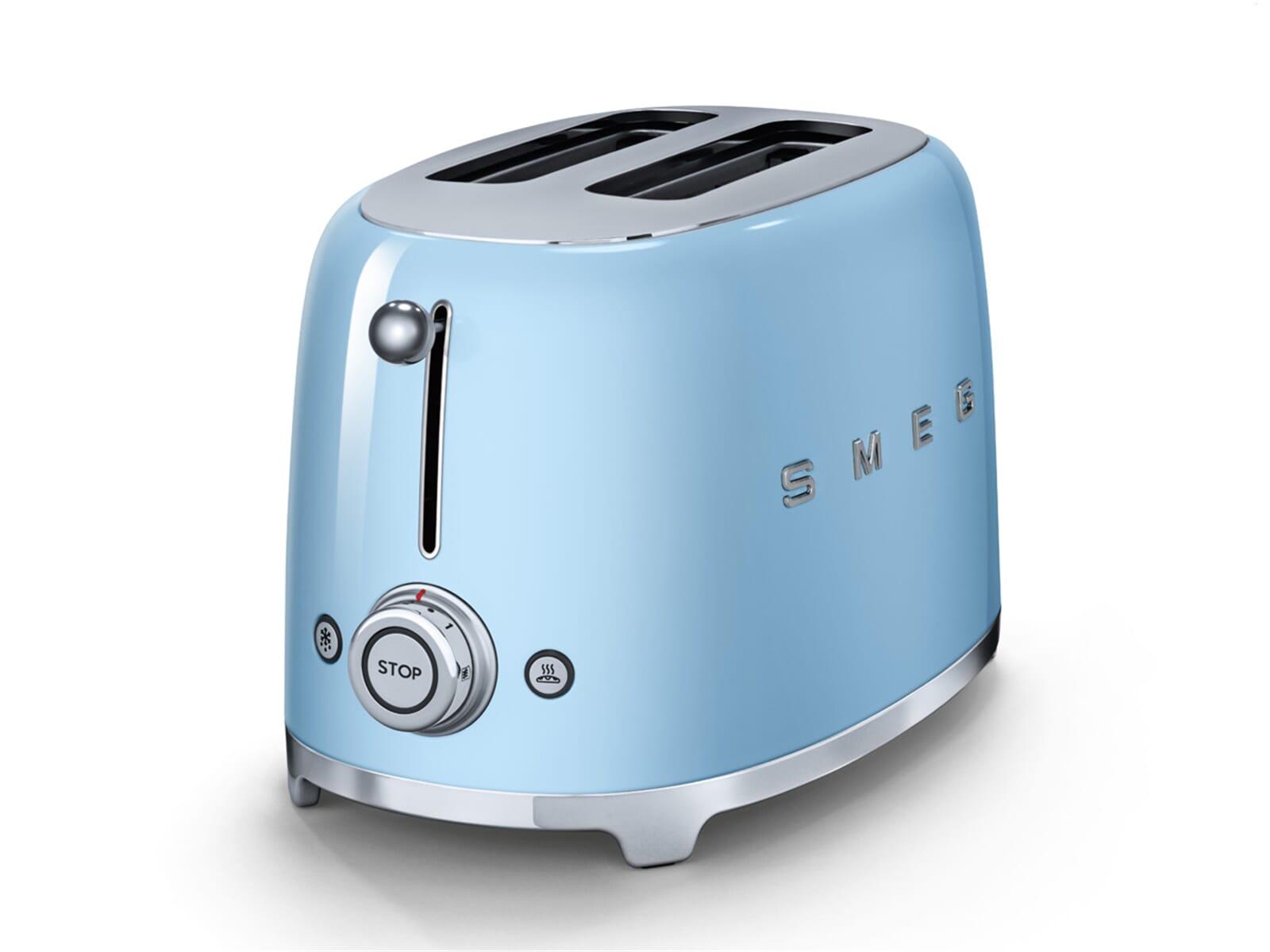 Smeg TSF01PBEU 2-Scheiben-Toaster Pastellblau