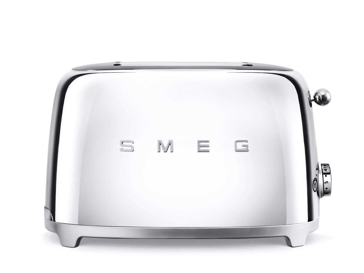 smeg tsf01sseu 2 scheiben toaster chrome. Black Bedroom Furniture Sets. Home Design Ideas