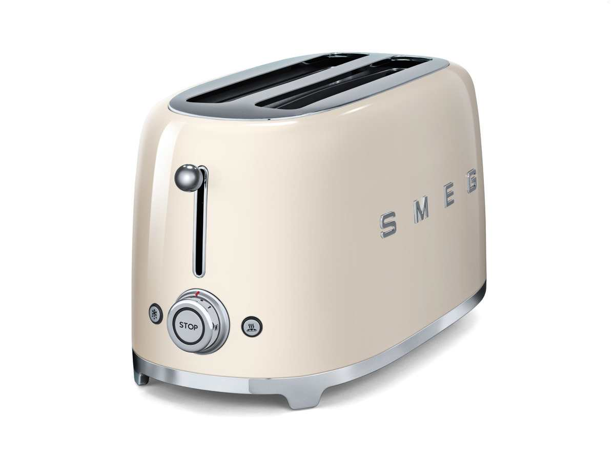 smeg tsf02creu 4 scheiben toaster creme. Black Bedroom Furniture Sets. Home Design Ideas