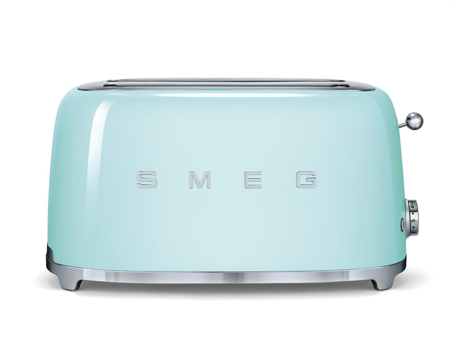 smeg tsf02pgeu 4 scheiben toaster pastellgr n. Black Bedroom Furniture Sets. Home Design Ideas