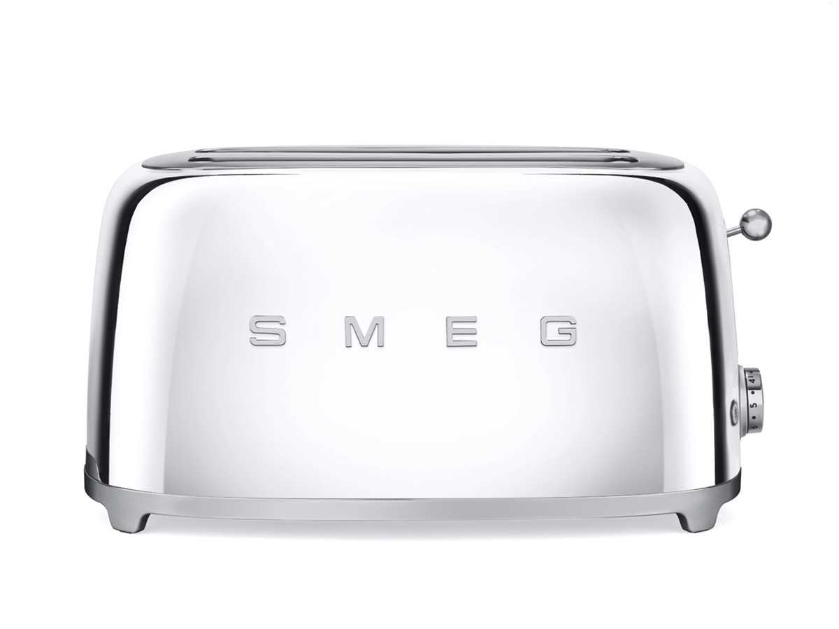 smeg tsf02sseu 4 scheiben toaster chrome. Black Bedroom Furniture Sets. Home Design Ideas