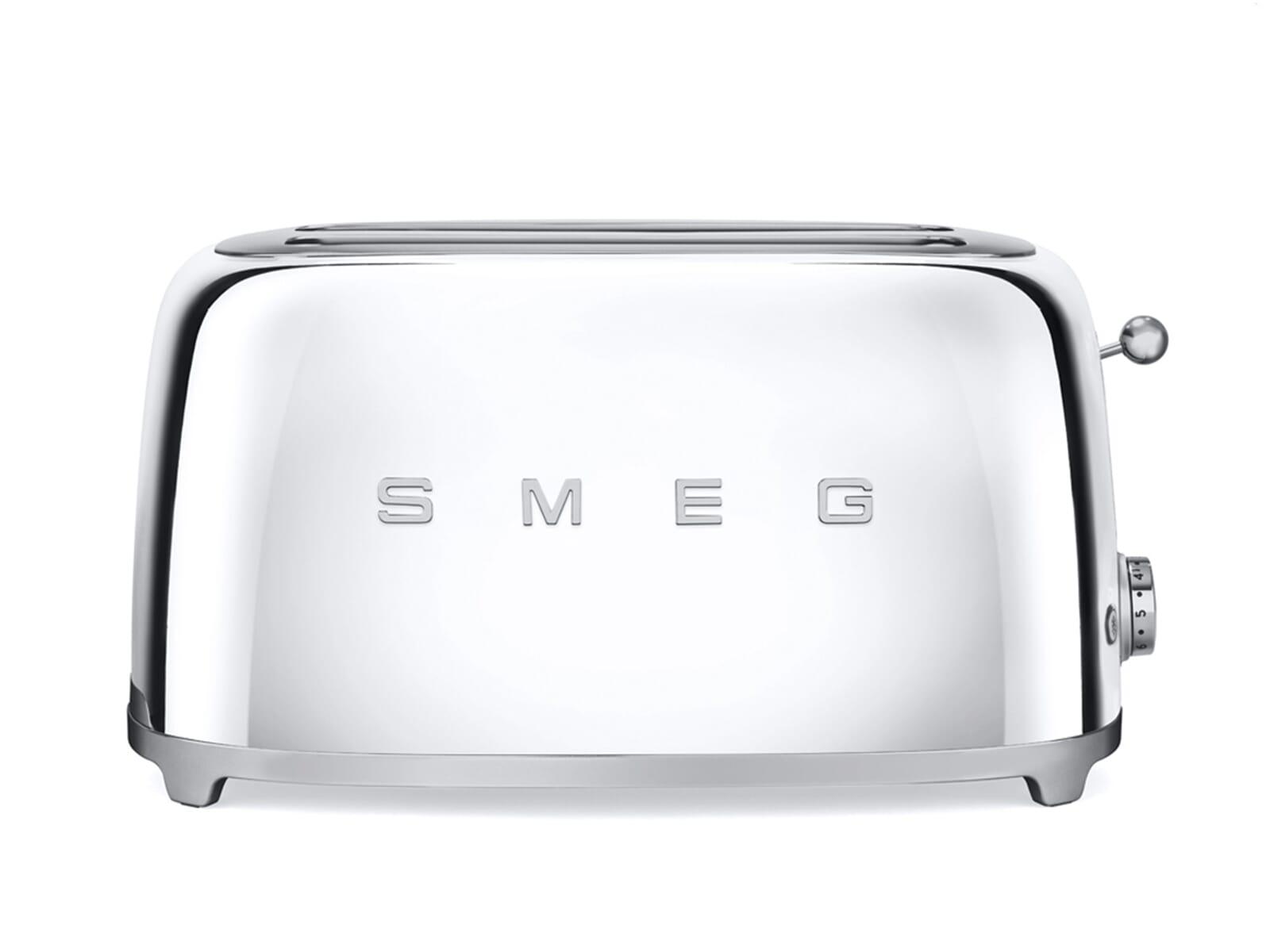 Produktabbildung vonSmeg TSF02SSEU 4-Scheiben-Toaster Chrome