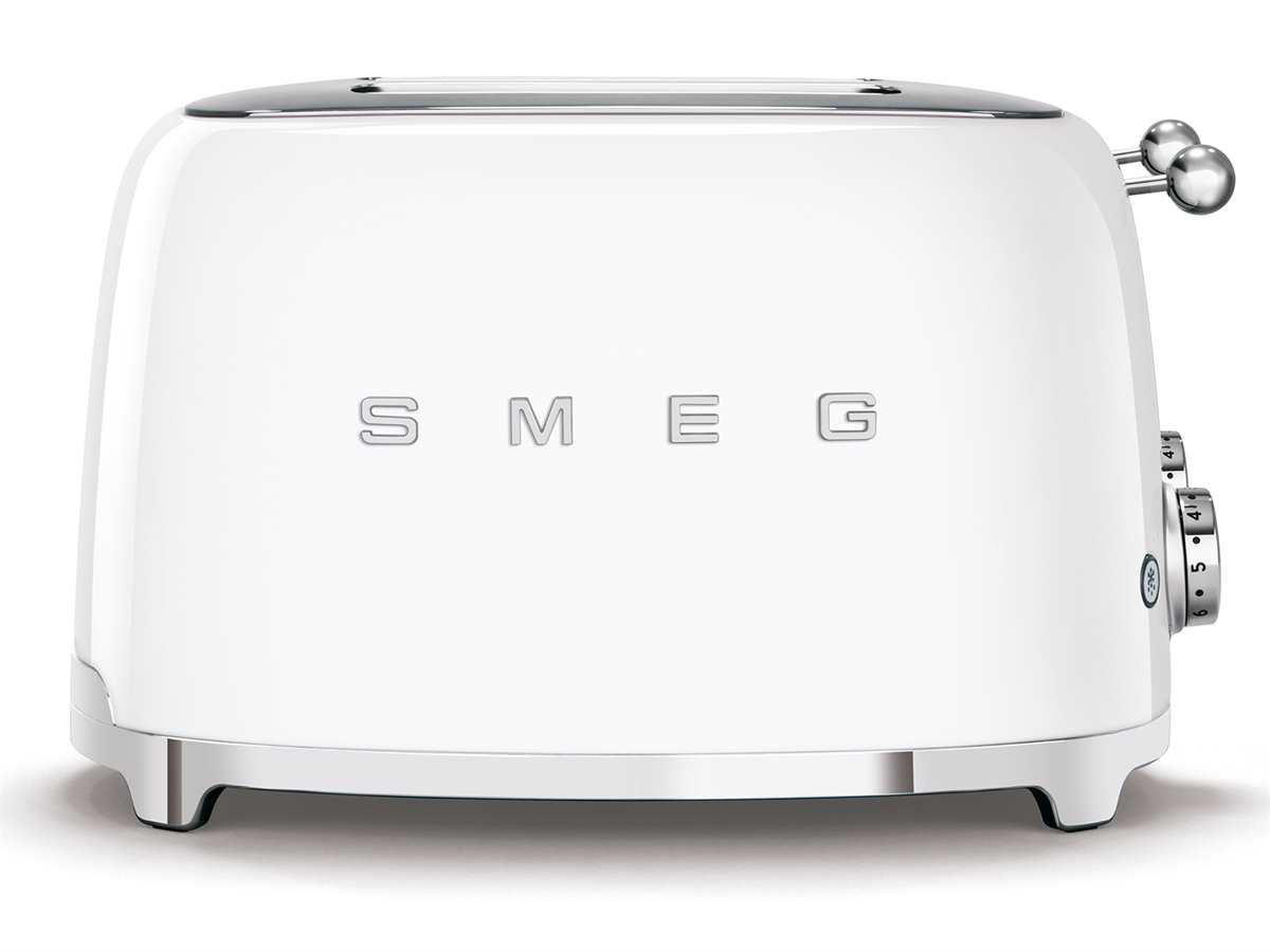 Smeg TSF03WHEU 4-Schlitz-Toaster Weiß