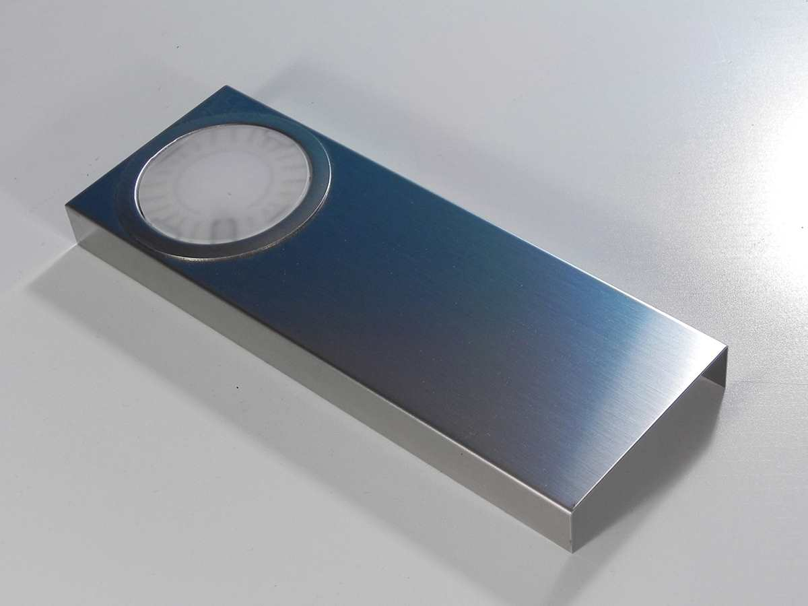 forma e funzione led lichtbox 173k714a edelstahl