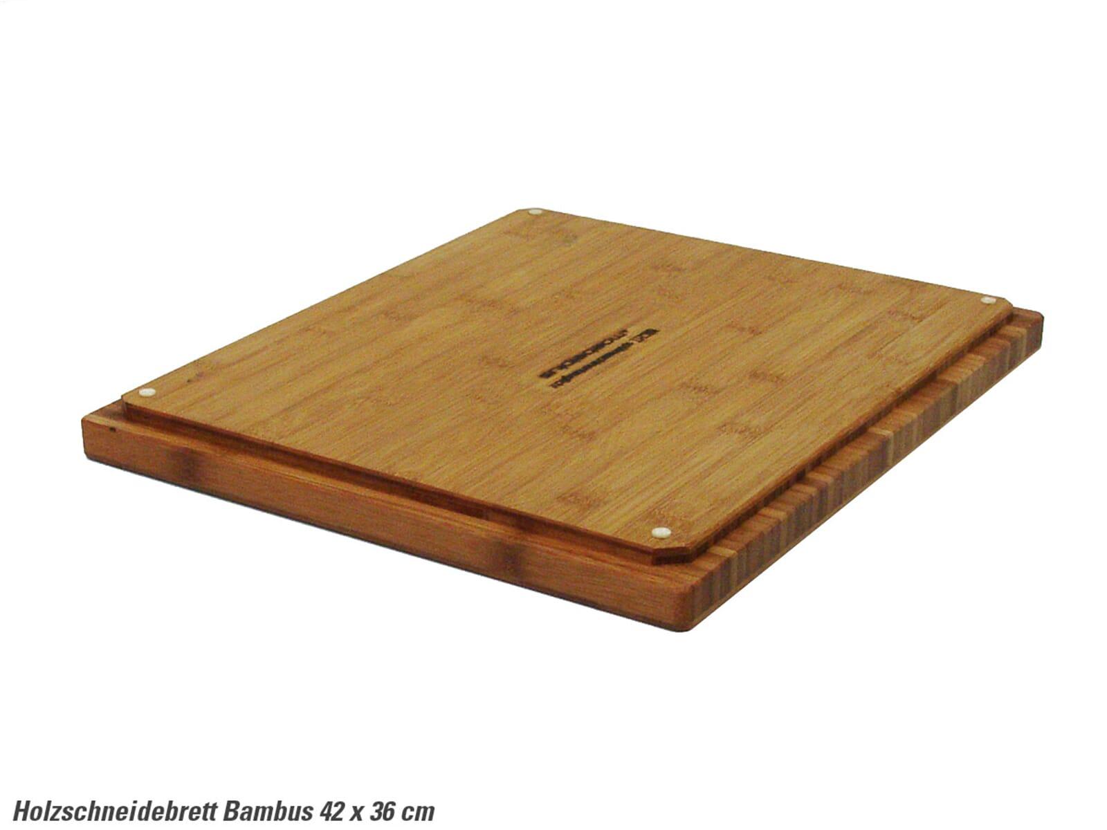 Holzschneidebrett aus Bambus