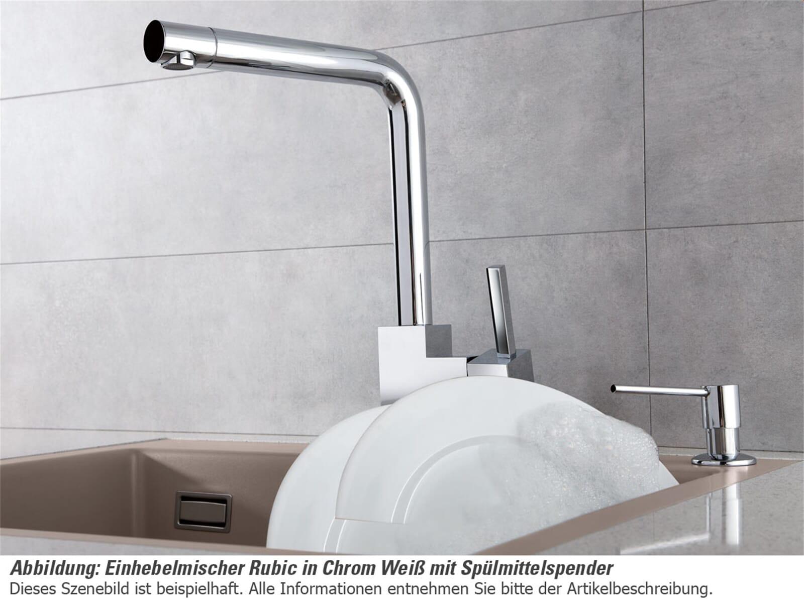 Systemceram Spülmittelspender Edelstahlfinish 00904