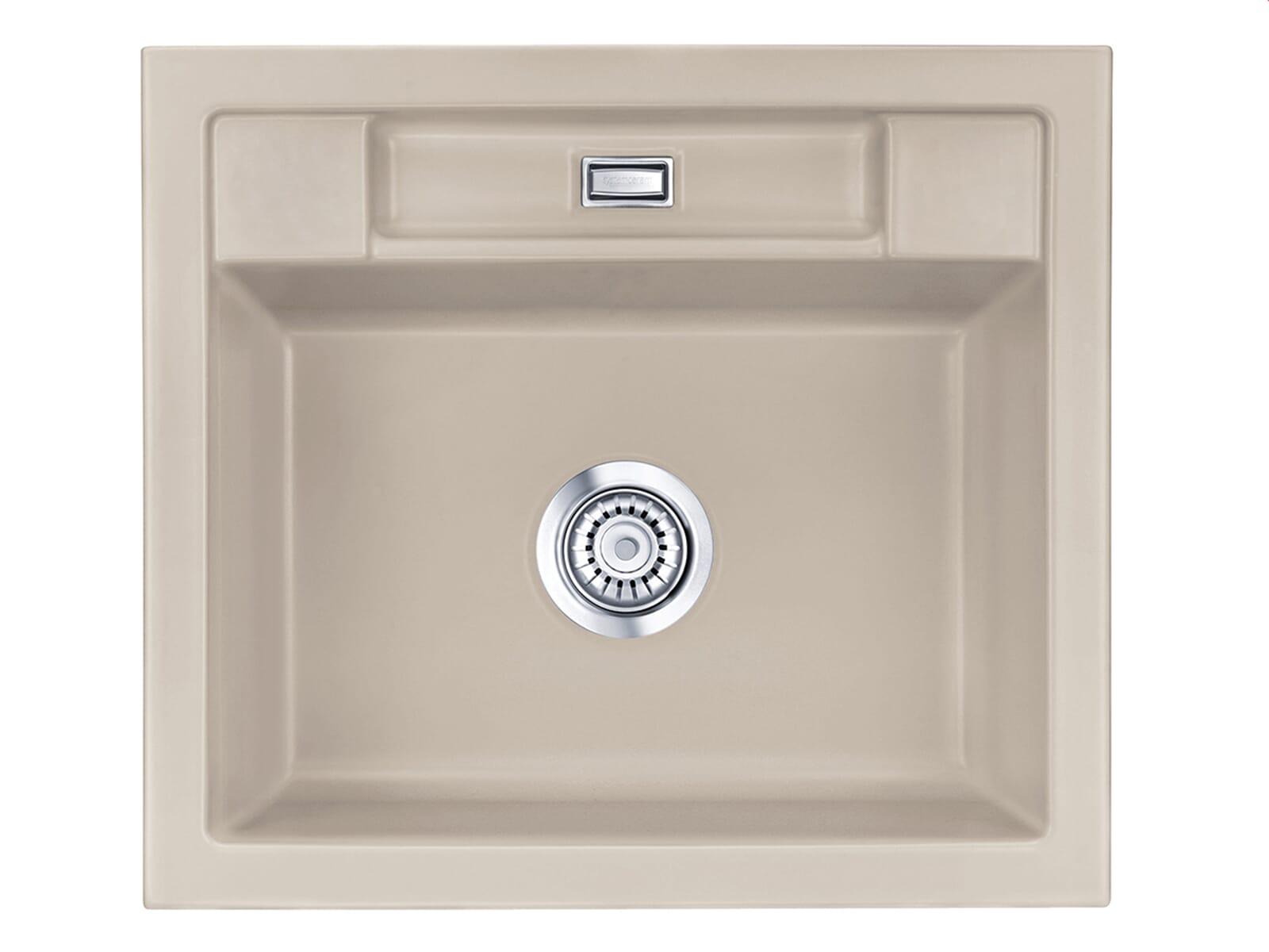 Produktabbildung Systemceram Bela 57 Fango Keramik-Spüle Handbetätigung