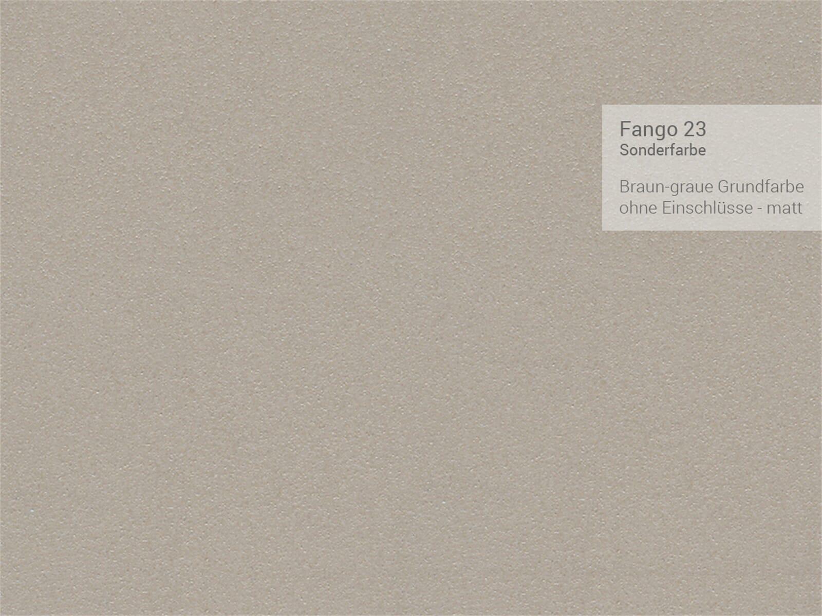 Systemceram Genea 75 Fango Keramikspüle Excenterbetätigung