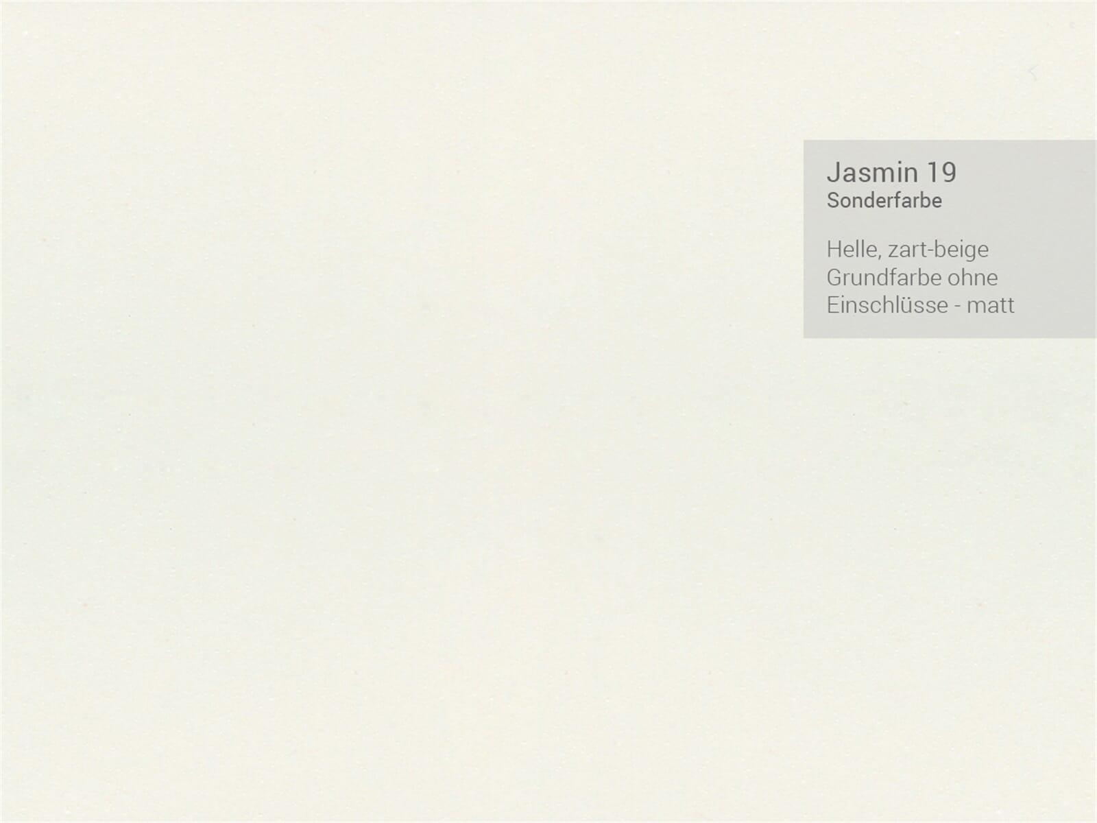 Systemceram Genea 87 Jasmin Keramik-Spüle Excenterbetätigung