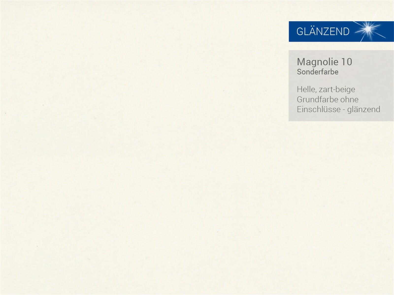 Systemceram Genea 87 Magnolie Keramik-Spüle Handbetätigung