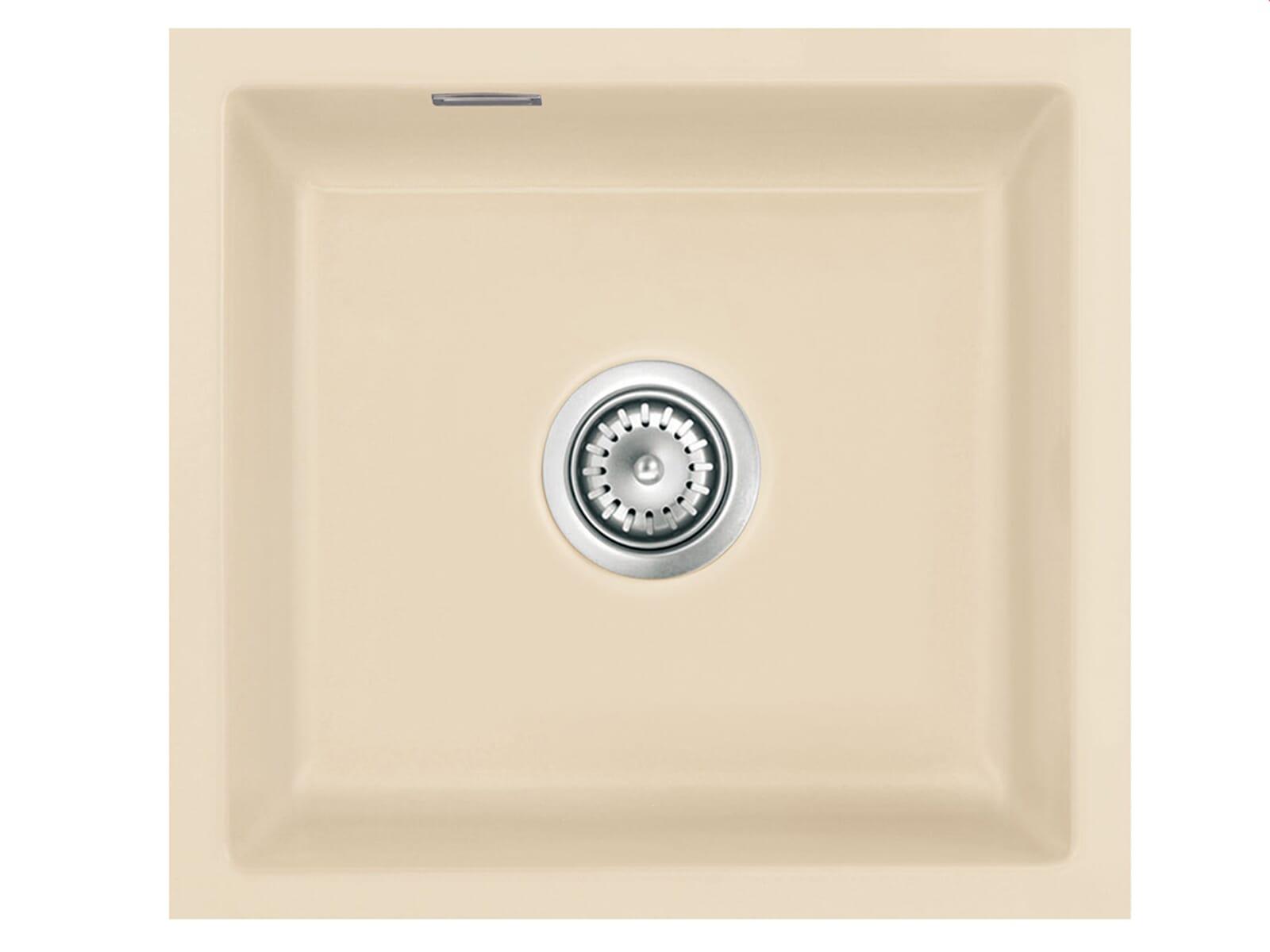 Systemceram Mera 42 U Noblesse Keramikspüle Excenterbetätigung